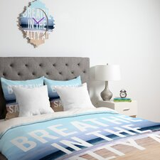 <strong>DENY Designs</strong> Leah Flores Breathe Duvet Cover Collection