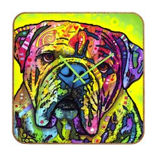 Dean Russo Hey Bulldog Clock
