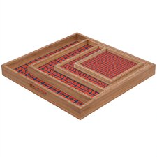 <strong>DENY Designs</strong> Andrea Victoria Ahoy Anchors Square Tray