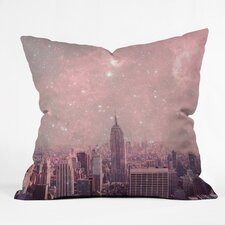 Bianca Green Stardust Covering New York Throw Pillow