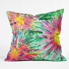 Joy Laforme Floral Confetti Throw Pillow