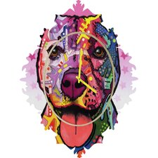 Dean Russo Cherish The Pitbull Wall Clock