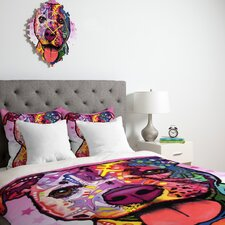 Dean Russo Cherish The Pitbull Duvet Cover Collection