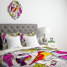 Mary Beth Freet Couture Home Birds Duvet Cover Collection