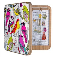 Mary Beth Freet Couture Home Birds Jewelry Box