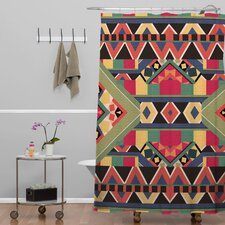 Bianca Woven Polyester Bold Shower Curtain