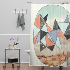 Wesley Bird Polyester Dry Spell Shower Curtain