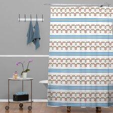 Jennifer Denty Woven Polyester Anchor Small Shower Curtain
