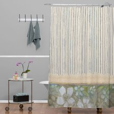 Cori Dantini Woven Polyester Stripes Shower Curtain