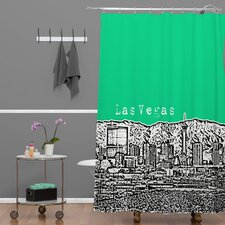 <strong>DENY Designs</strong> Bird Ave Woven Polyester Las Vegas Shower Curtain