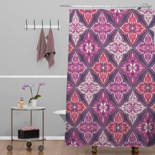 Khristian A Howell Woven Polyester Provencal Lavender 5 Shower Curtain