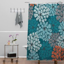 Khristian A Howell Woven Polyester Greenwich Gardens 3 Shower Curtain