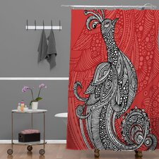 Valentina Ramos Polyester The Bird Shower Curtain