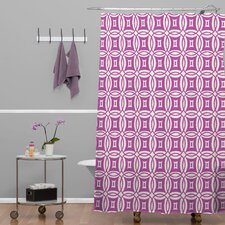 Khristian A Howell Woven Polyester Desert Twilight Shower Curtain