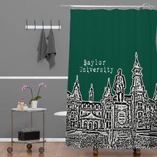 <strong>DENY Designs</strong> Bird Ave Woven Polyester University Shower Curtain