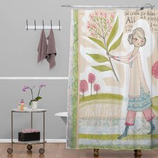 Cori Dantini Woven Polyester Small Truths Shower Curtain