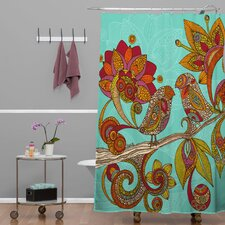 Valentina Ramos Polyester Hello Birds Shower Curtain