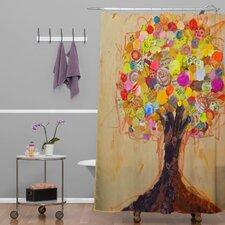 Elizabeth St Hilaire Nelson Summer Tree Polyester Shower Curtain