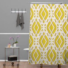 Aimee St Hill Diamonds Polyester Shower Curtain