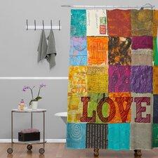 Elizabeth St Hilaire Nelson Love Polyester Shower Curtain