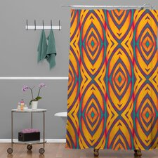 Wagner Campelo Polyester Maranta Shower Curtain