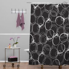 Rachael Taylor Polyester Circles Shower Curtain