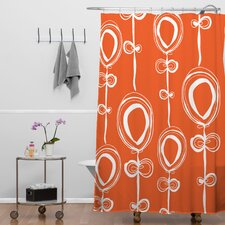 Rachael Taylor Polyester Contemporary Shower Curtain
