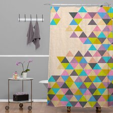 Bianca Woven Polyester Completelyincomplete Shower Curtain