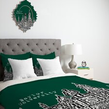 Bird Ave University Duvet Cover