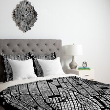 <strong>DENY Designs</strong> CityFabric Inc NYC Duvet Cover Collection
