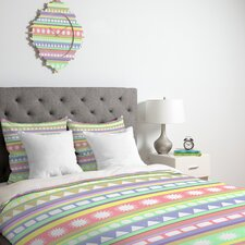 <strong>DENY Designs</strong> Romi Vega Pastel Pattern Duvet Cover Collection