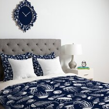 <strong>DENY Designs</strong> Jennifer Denty Jellyfish Duvet Cover Collection