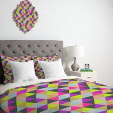 <strong>DENY Designs</strong> Bianca Green Ocean of Pyramid Duvet Cover Collection