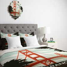 <strong>DENY Designs</strong> Anderson Design Group San Francisco Duvet Cover Collection