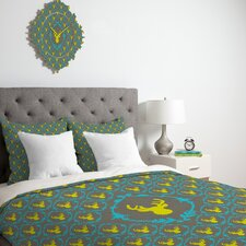 <strong>DENY Designs</strong> Bianca Green Oh Deer 3 Duvet Cover Collection