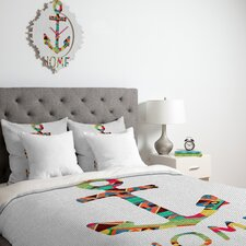 <strong>DENY Designs</strong> Bianca Green You Make Me Home Duvet Cover Collection