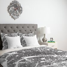 <strong>DENY Designs</strong> CityFabric Inc Paris Duvet Cover Collection