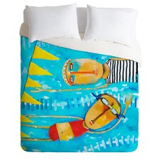 Robin Faye Gates Swimming Is Hard Duvet Cover Collection