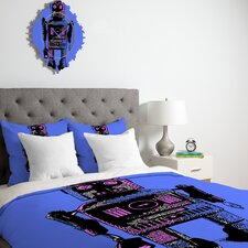 Romi Vega Lantern Robot Duvet Cover Collection