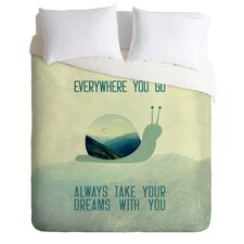 Belle13 Always Take Your Dreams With You Duvet Cover Collection