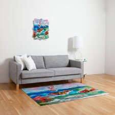 Ginette Fine Art Clownfish Novelty Rug