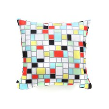 <strong>DENY Designs</strong> Jacqueline Maldonado Geo Square Polyester Throw Pillow