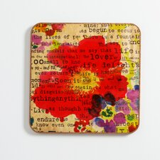 Poppy Poetry 2 by Irena Orlov Framed Graphic Art Plaque
