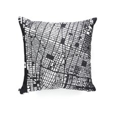 CityFabric Inc NYC Woven Polyester Throw Pillow