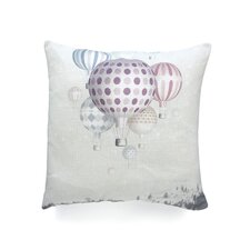 Belle13 Winter Dreamflight Polyester Throw Pillow