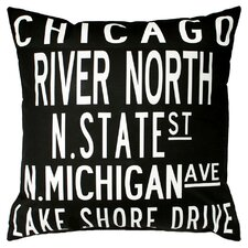 <strong>Uptown Artworks</strong> Chicago Pillow
