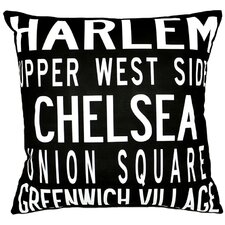 <strong>Uptown Artworks</strong> NY Pillow