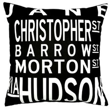 <strong>Uptown Artworks</strong> West Village Pillow