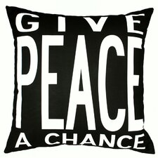 <strong>Uptown Artworks</strong> Peace Pillow