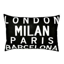 Cities of Europe Pillow